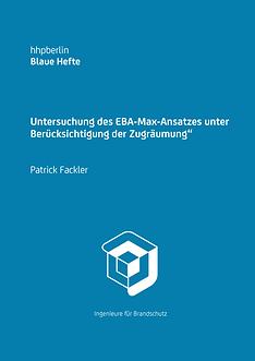 """Untersuchung des EBA-Max-Ansatzes unter Berücksichtigung der Zugräumung"""""""