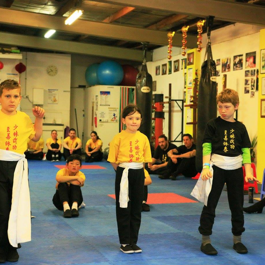 Jee Shin Wing Chun Grading Day #12