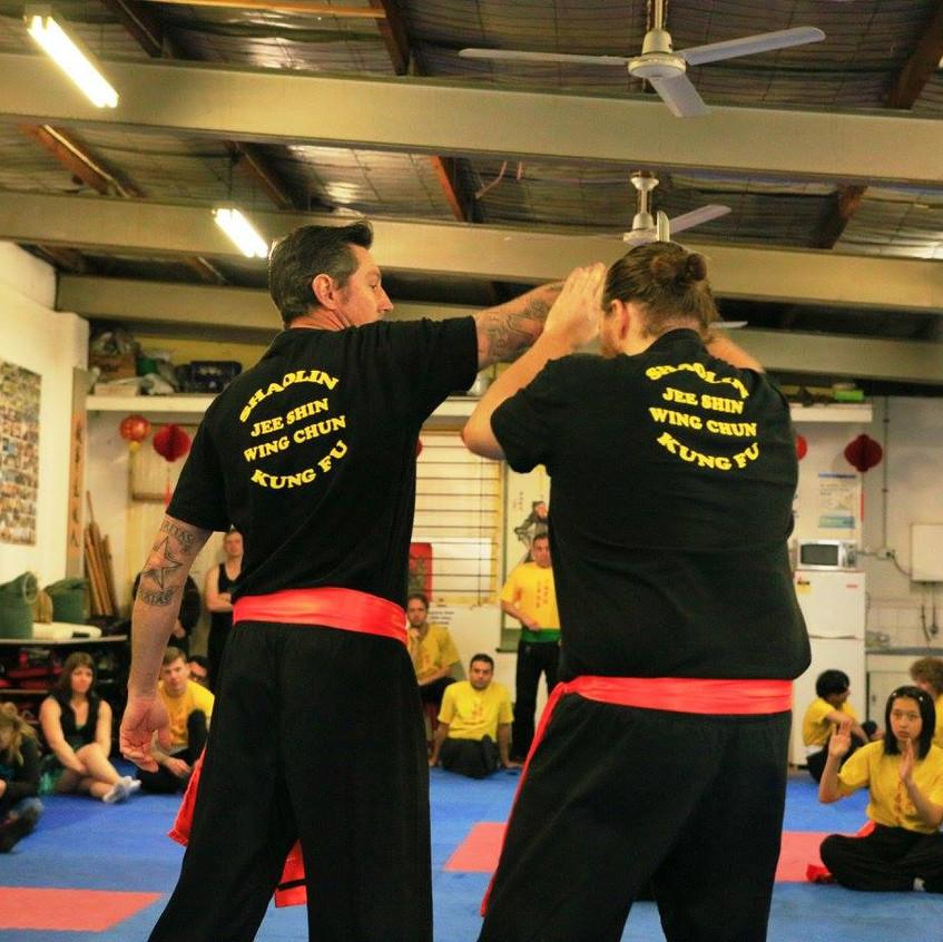 Jee Shin Wing Chun Grading Day #7