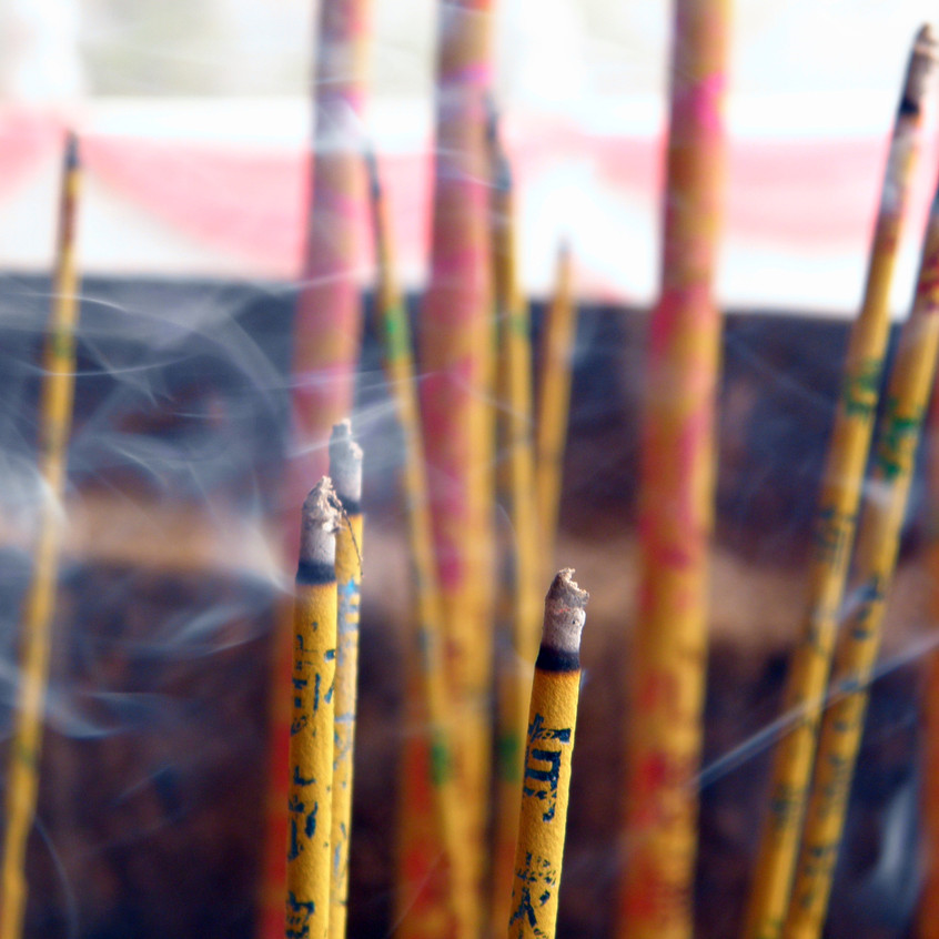 Incense at The Shaolin Temple