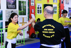 Wing Chun - created by a woman