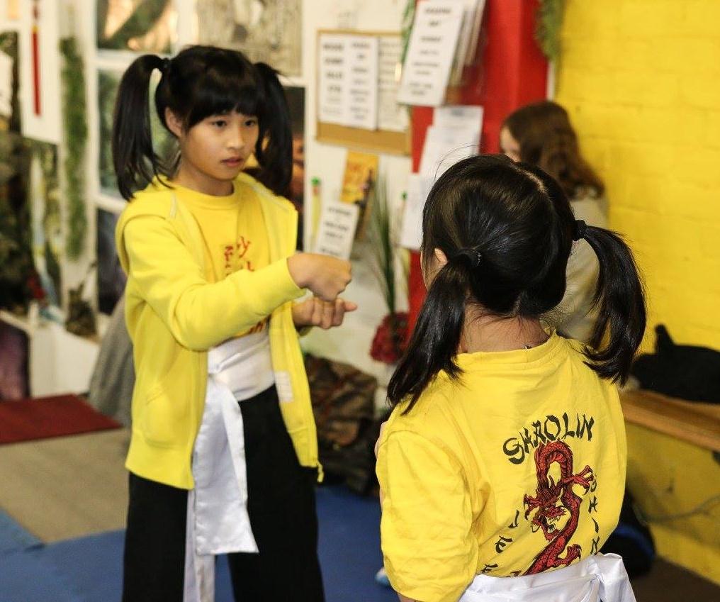 Wing Chun gradings for children