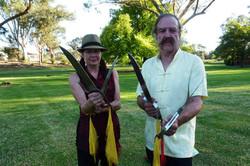 Butterfly Swords in Bendigo