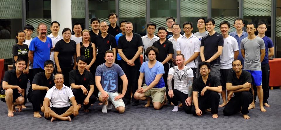 With Singapore Wing Chun school