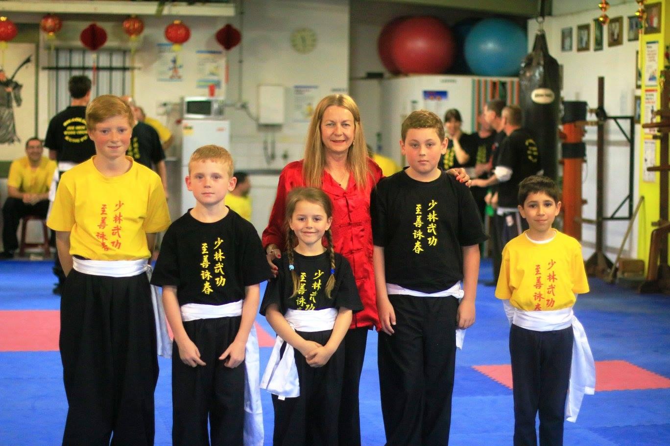 - Shaolin Jee Shin Wing Chun Kung F