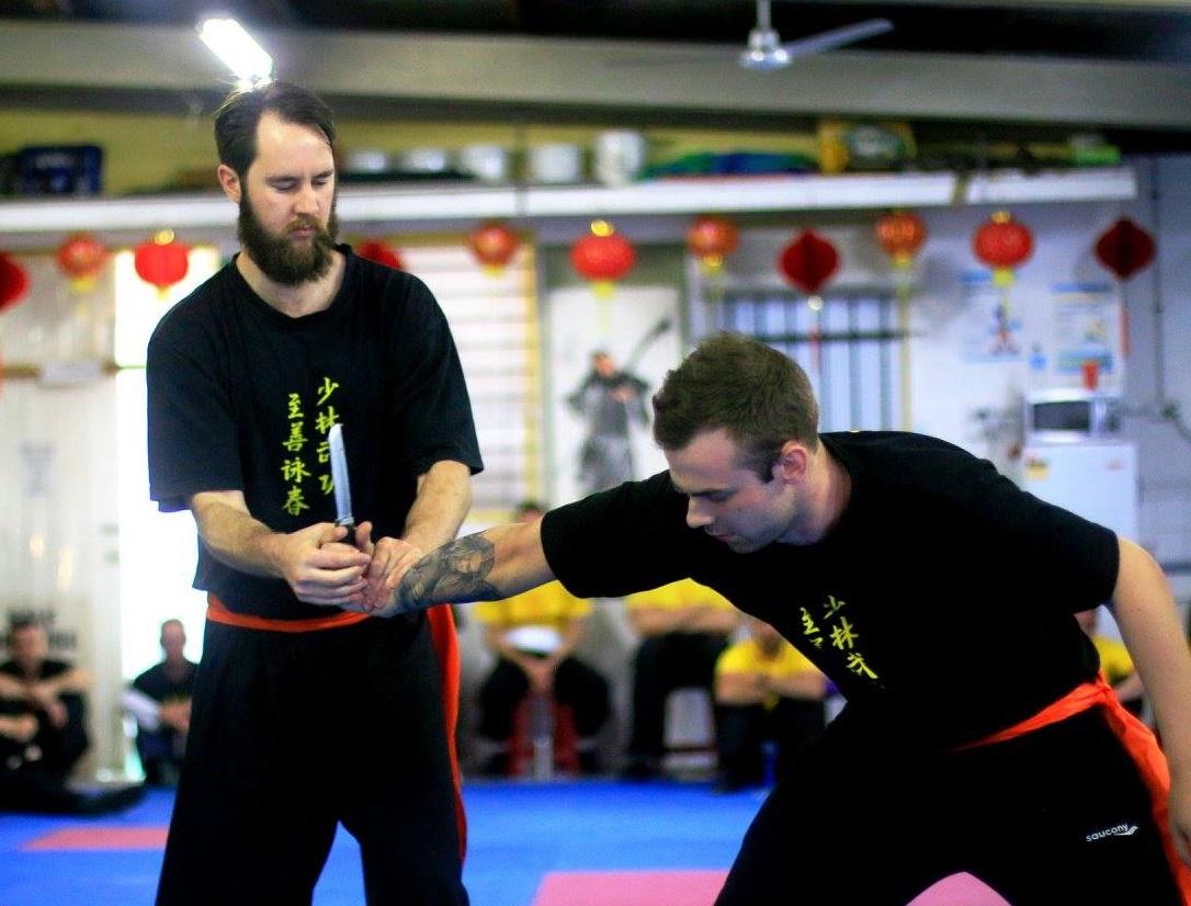 Bendigo Wing Chun student