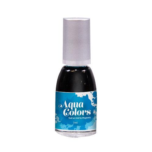 AQUA COLOR BLUE