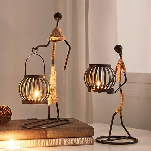 Decorative Metal Table Center Candle Holder