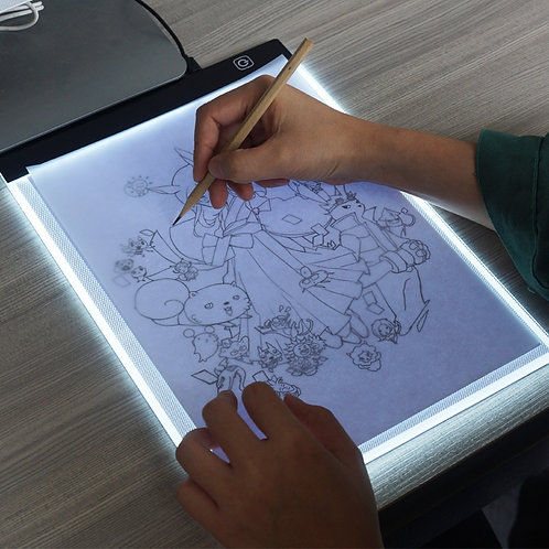 3-Level Dimmable Led Drawing Copy Pad Board Children's Painting Educational