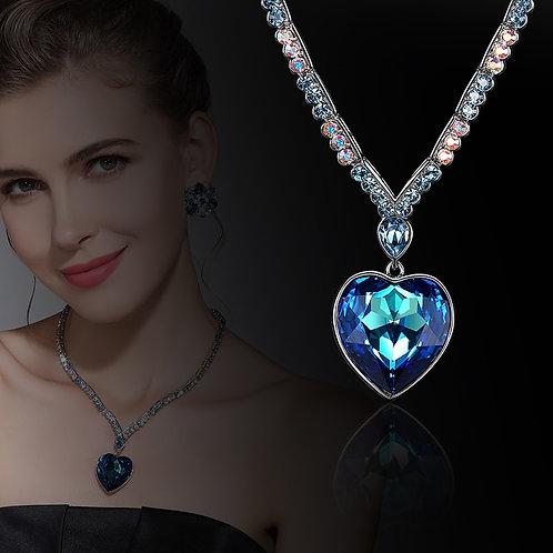 Angel Titanic Movie Heart Necklace