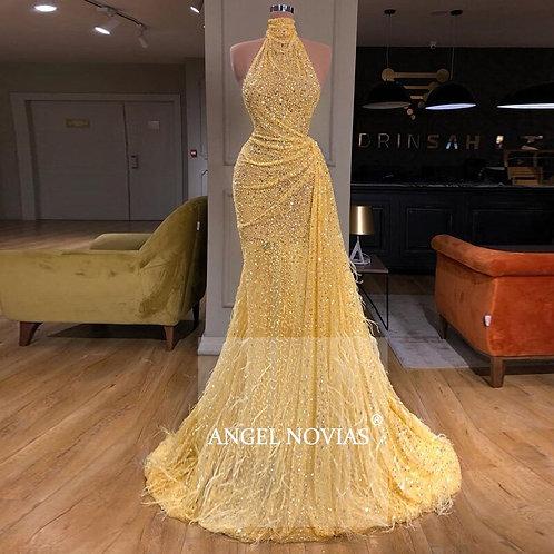 Angel Long Elegant Dress
