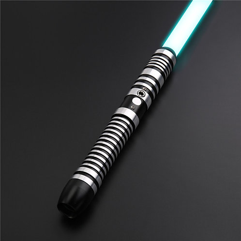 RGB Lightsaber Heavy Dueling 12 Colors to Change 6 Sound Front Metal Handle