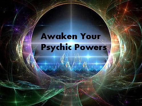 Develop psychic powers