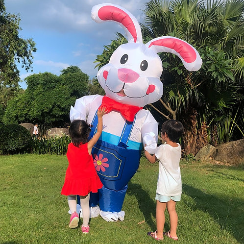 Easter Bunny Inflatable Costume