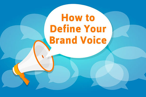 Your brand voice
