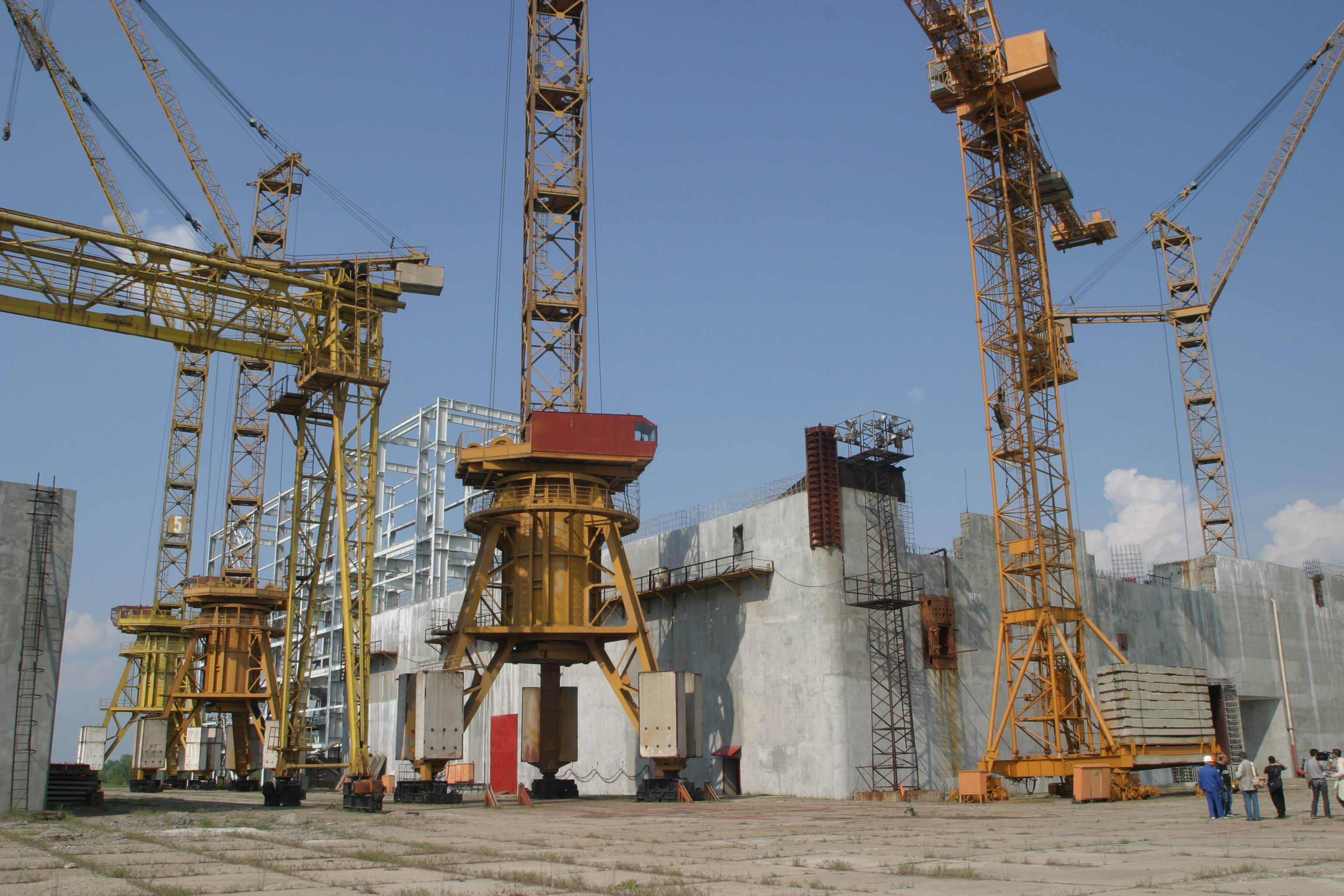 Belene nuclear construction site 1