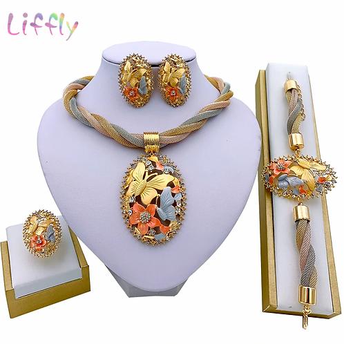 Necklace Earrings  Sets Bracelet Ring  Set