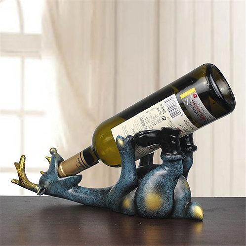 14cm Resin Elk Wine Bottle Holder Figurine Ornament