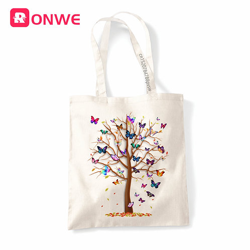 Butterfly Tree Harajuku Summer Eco Shopper Bag