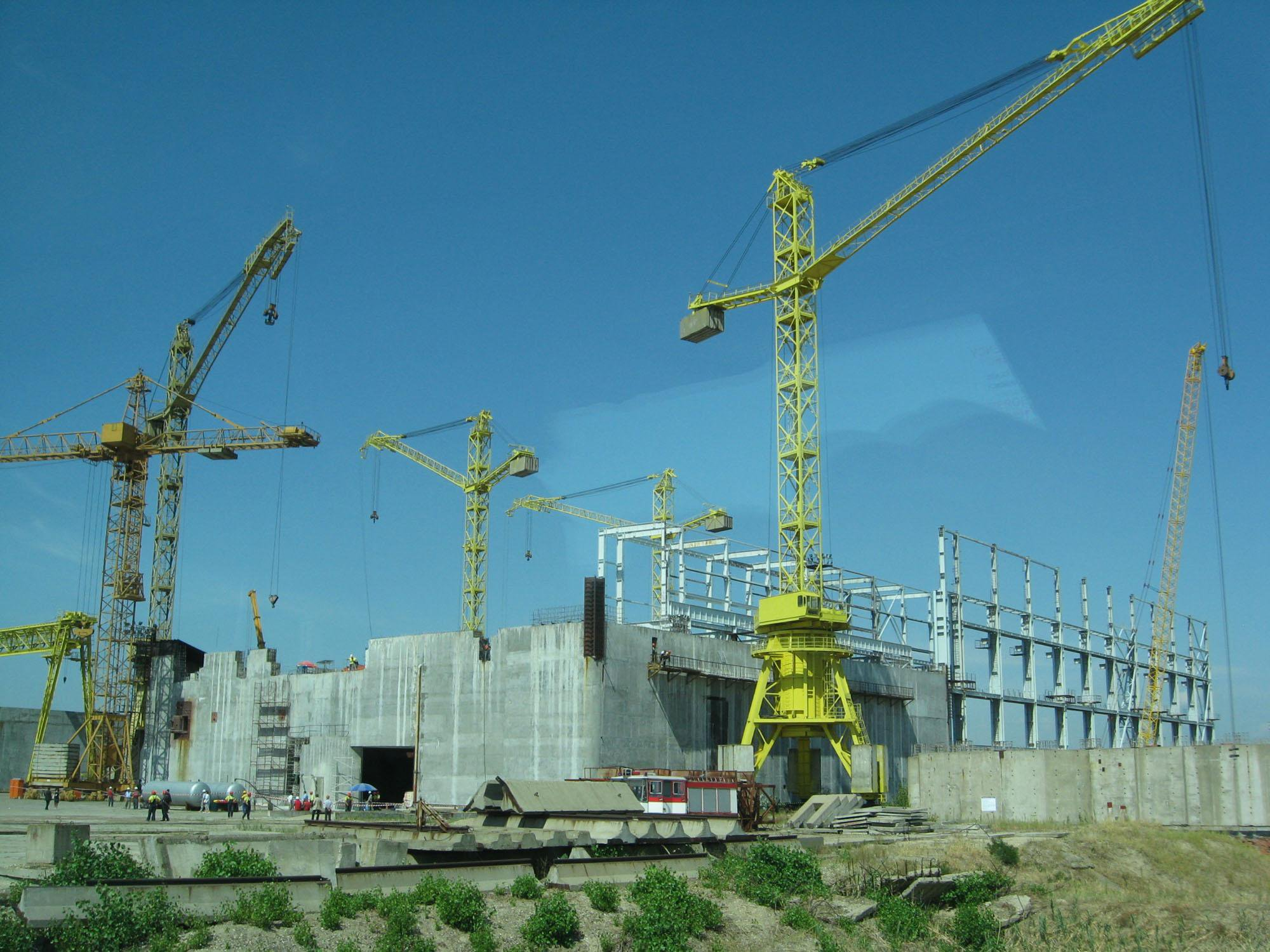 Belene nuclear construction site 5
