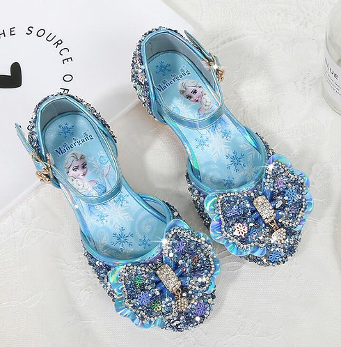 Princess Sequins Shoes for Girls High Heels