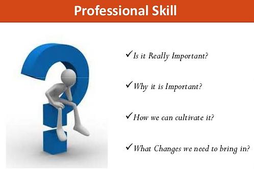 Enhancing professional skills