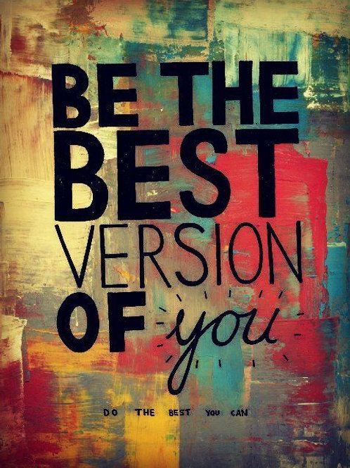 Be your best you