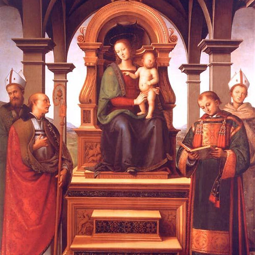Praying with Jesus, Mary and the saints towards fulfilment