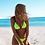 Thumbnail: Print Swimwear Bikini Cross Bandage