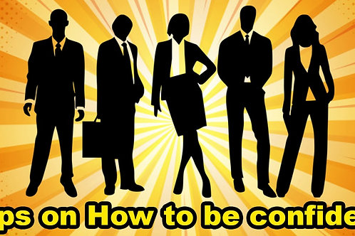 How to be confident leader
