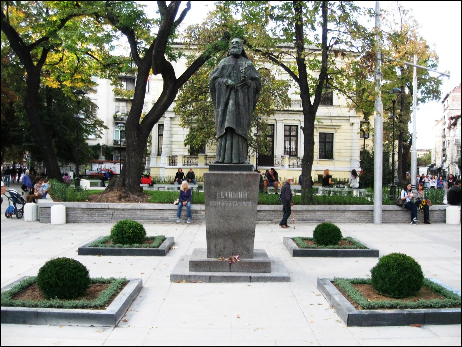"Monument ""Patriarch Euthymius of Tarnovo"""