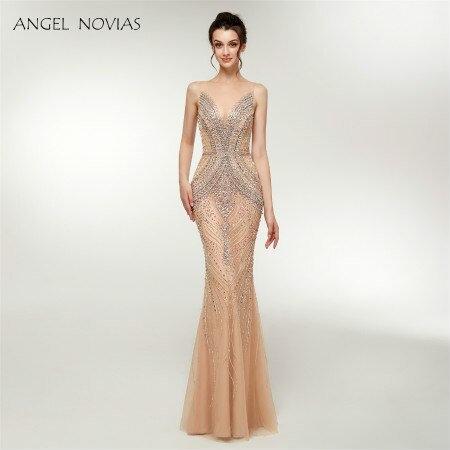 Angel Long Elegant Sexy Evening Dress