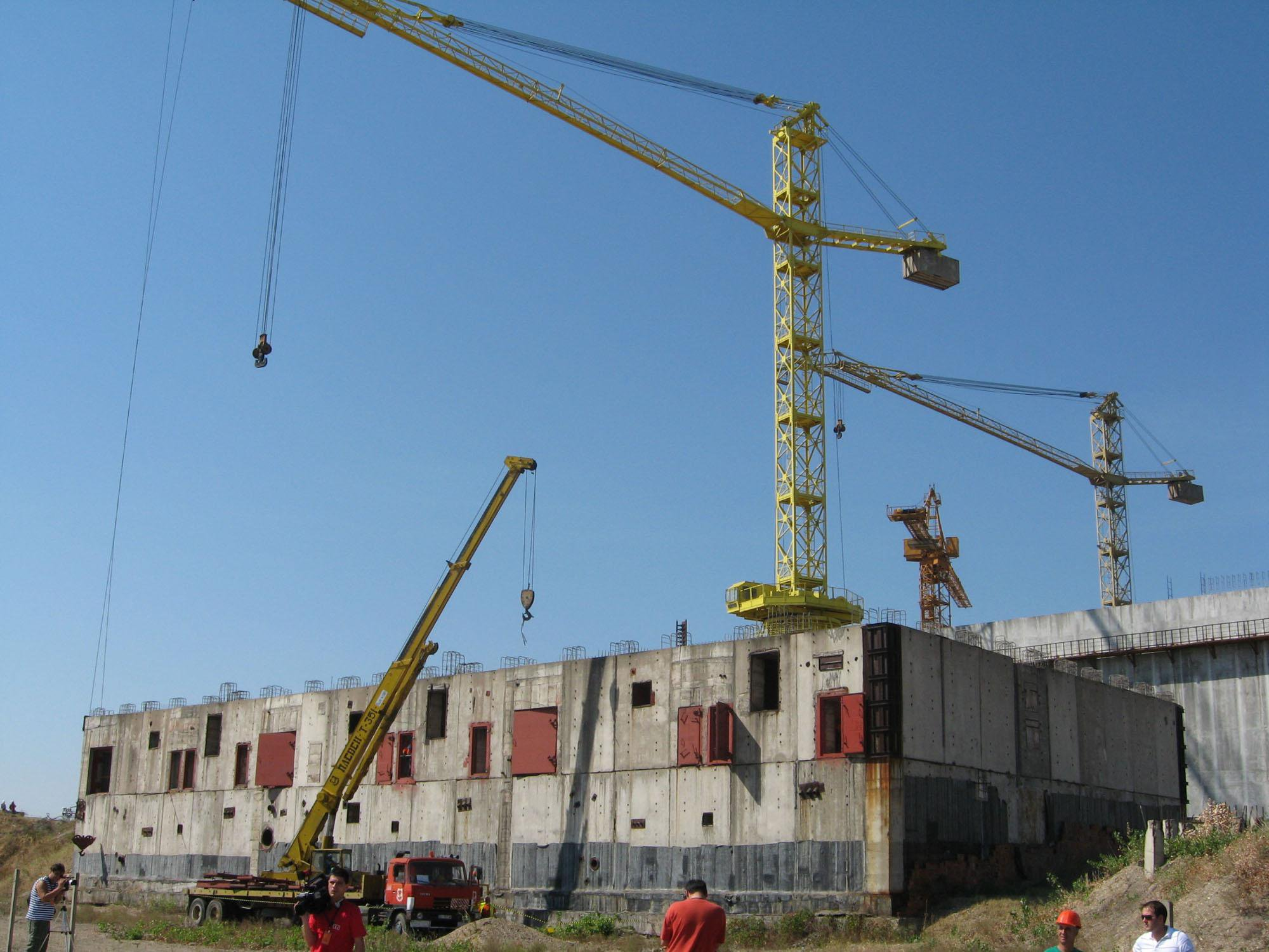 Belene nuclear construction site 3