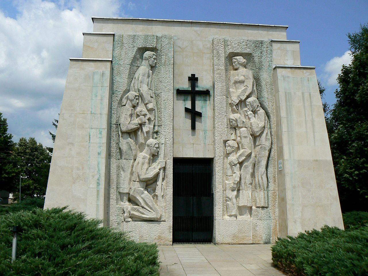 Skravena memorial ossuary