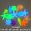 Thumbnail: Aquarium Ornaments Stones Glow in the Dark Luminous  for Garden  Fish Tank