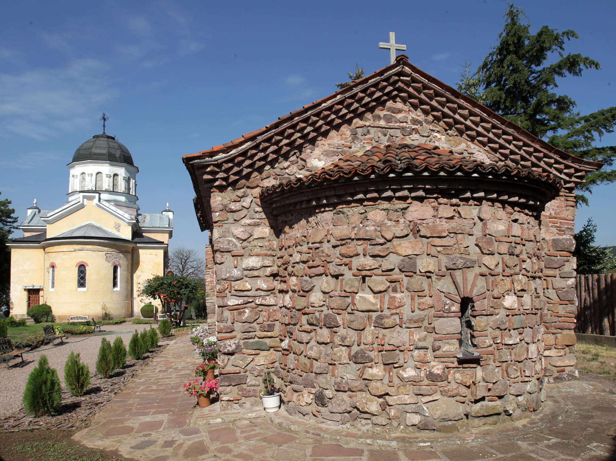 Kremikovtsi Monastery - the Church of the Holy Martyr George the Victorious