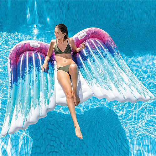 Large Angel Wings Floating Bed Inflatable Swimming