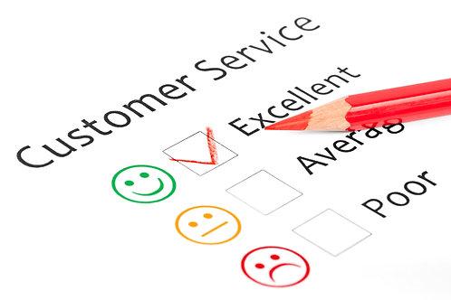 Superior customer services