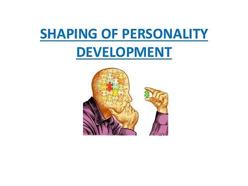 Powerful personality