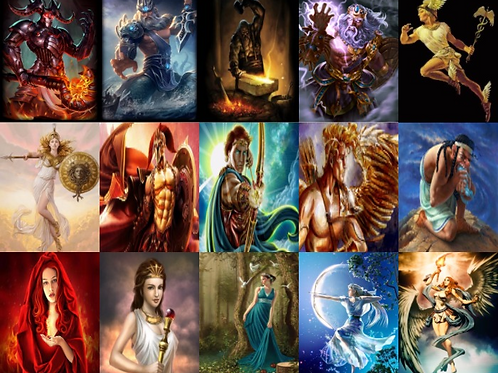 Oracle Greek Gods About Love