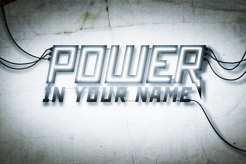Sacred Power Of Your Name