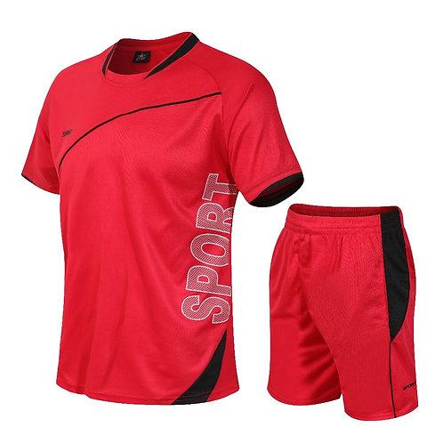 Men's Set T-shirt + short sportswear