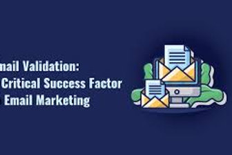 Email validation: a success factor in email marketing