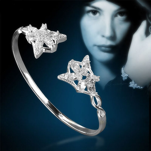 The Lord Of The Rings Arwen Evenstar Silver Bracelet