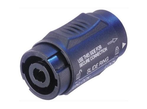 NEUTRIK • Adaptateur prolongateur speakON 4 contacts + verrou, série X