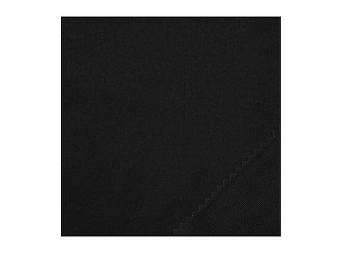 Coton gratté Noir - 260cm 140g/m2 M1 ignifugé - THEMIS
