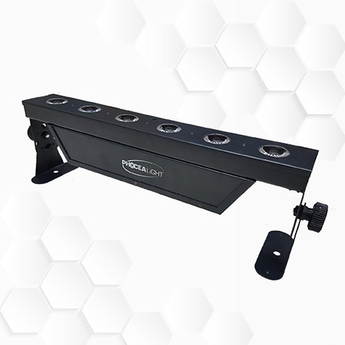 Barre LEDs batterie 6x15W HF + Wi-Fi