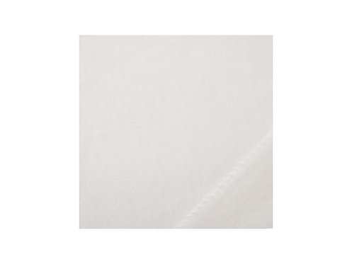Coton gratté Blanc - 260cm 140g/m2 M1 ignifugé - THEMIS