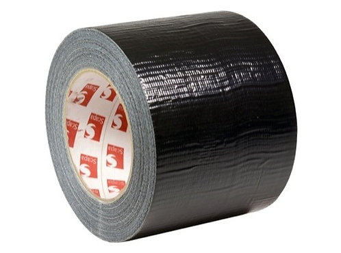 Gaffer noir éco 100mm x 50m • SCAPA