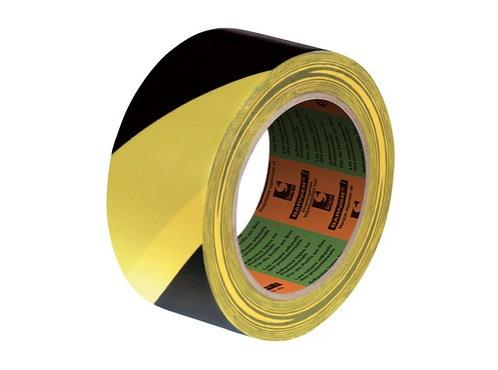 Adhésif signalisation jaune noir 50mm x 33m • SCAPA